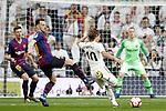 Real Madrid CF's Luka Modric and FC Barcelona's Clement Lenglet (L), Ivan Rakitic during La Liga match. March 02,2019. (ALTERPHOTOS/Alconada)