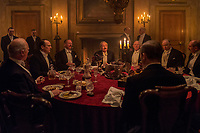 Darkest Hour (2017) <br /> Ronald Pickup<br /> *Filmstill - Editorial Use Only*<br /> CAP/KFS<br /> Image supplied by Capital Pictures