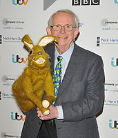 LONDON, ENGLAND - JANUARY 13: Hartley Hare and Nigel Plaskitt at the Writers' Guild of Great Britain Awards 2020, Royal College of Physicians, St Andrews Place, Regent Park on Monday 13 January 2020 in London, England, UK. <br /> CAP/CAN<br /> ©CAN/Capital Pictures