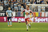Kansas City, KS.- March 8, 2015: Sporting Kansas City and New York Red Bulls played to a 1-1 tie in the MLS season opener for both teams at Sporting Park.