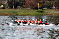 Redwood Shores, CA - March 31, 2018:  Stanford Women's Rowing hosts the Pac-12 Challenge at Redwood Shores.