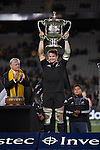 Richie McCaw. All Blacks beat Australia 22-0. Eden Park, Auckland. 25 August 2012. Photo: Marc Weakley