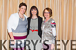 Claire Dempsey, Ann Hussey and Joan Hussey enjoying  the IT Tralee Society of SVP Fashion Show at Fels Point Hotel on Thursday
