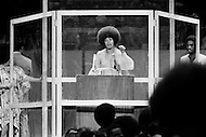 ANGELA DAVIS AT MADISON SQUARE GARDEN