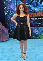 "LOS ANGELES, CA. February 09, 2019: Talia Jackson at the premiere of ""How To Train Your Dragon: The Hidden World"" at the Regency Village Theatre.<br /> Picture: Paul Smith/Featureflash"