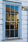 Weathered walls and window at Wilder Ranch State Park, Santa Cruz, California
