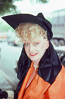 Alannah Currie of the Thompson Twins<br />