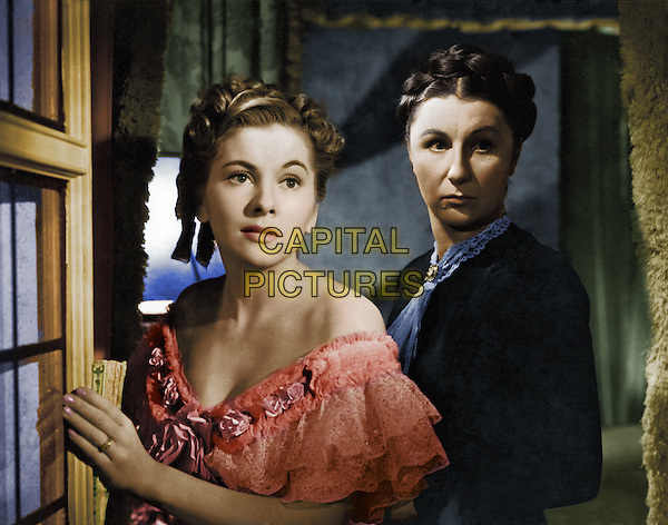Joan Fontaine & Judith Anderson.in Rebecca.*Filmstill - Editorial Use Only*.CAP/PLF.Supplied by Capital Pictures.