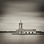 Normanton Church, Rutland Water, Leicestershire, England