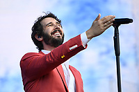 LONDON, ENGLAND - JULY 5: Josh Groban performing at British Summertime on July 5, 2019 in London, England.<br /> CAP/MAR<br /> ©MAR/Capital Pictures