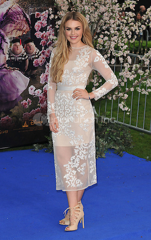 Tallia Storm at the &quot;Alice Through The Looking Glass&quot; European film premiere, Odeon Leicester Square cinema, Leicester Square, London, England, UK, on Tuesday 10 May 2016.<br /> CAP/CAN<br /> &copy;CAN/Capital Pictures /MediaPunch ***NORTH AMERICA AND SOUTH AMERICA ONLY***