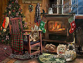 GIORDANO, CHRISTMAS ANIMALS, WEIHNACHTEN TIERE, NAVIDAD ANIMALES, paintings+++++,USGI2960,#xa#
