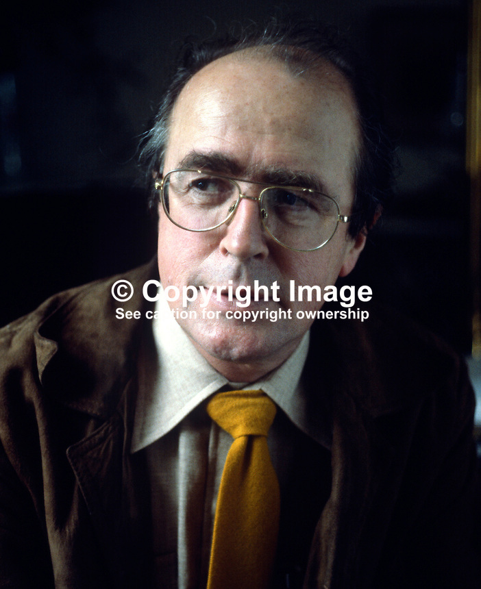 Douglas Gageby, editor, Irish Times, Dublin, Ireland, 1978110308A...Copyright Image from Victor Patterson, 54 Dorchester Park, Belfast, UK, BT9 6RJ..Tel: +44 28 9066 1296.Mob: +44 7802 353836.Voicemail +44 20 8816 7153.Skype: victorpattersonbelfast.Email: victorpatterson@me.com.Email: victorpatterson@ireland.com (back-up)..IMPORTANT: If you wish to use this image or any other of my images please go to www.victorpatterson.com and click on the Terms & Conditions. Then contact me by email or phone with the reference number(s) of the image(s) concerned.