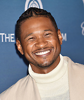 LOS ANGELES, CA - JANUARY 05: Usher attends Michael Muller's HEAVEN, presented by The Art of Elysium at a private venue on January 5, 2019 in Los Angeles, California.<br /> CAP/ROT/TM<br /> ©TM/ROT/Capital Pictures