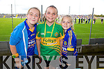 Emma Conway, Grainne Shanahan, Grainne Walsh at the Senior County Hurling final, Lixnaw V Kilmoyley at Austin Stack Park on Sunday