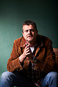 Mark Billingham former stand-up comedian and winner of the Sherlock Award for Best Detective in British crime fiction. Now Mark Billingham has also won the pleasure of having that same detective, Tom Thorne, played by David Morrissey in an impressive TV adaptation at The Edinburgh International Book Festival 2011.  Credit Geraint Lewis