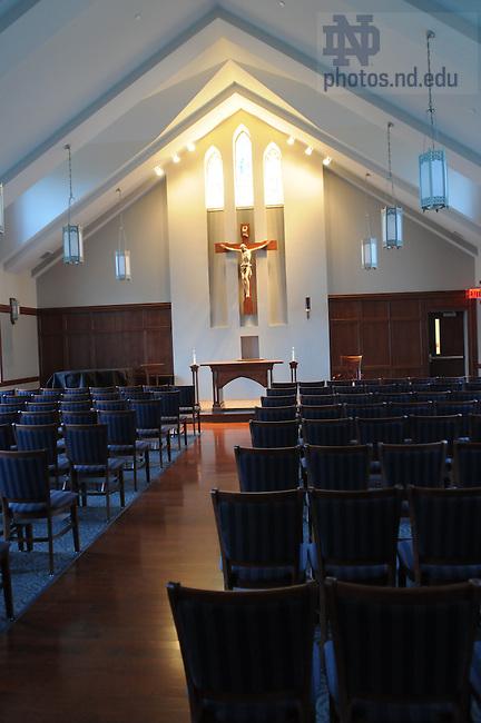 Duncan Hall chapel ..Photo by Joe Raymond