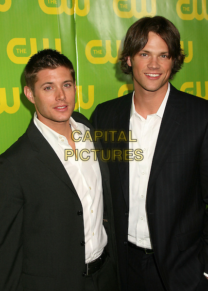 JENSEN ACKLES & JARED PADALECKI.The CW Winter TCA All Star Party at the Ritz Carlton Hotel, Pasadena, California, USA..January 19th, 2007.half length black suit jacket .CAP/ADM/BP.©Byron Purvis/AdMedia/Capital Pictures