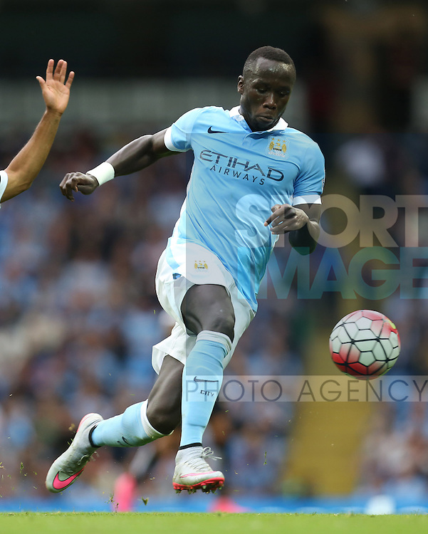 Bacary Sagna of Manchester City - Manchester City vs Watford - Barclay's Premier League - Etihad Stadium - Manchester - 29/08/2015 Pic Philip Oldham/SportImage
