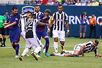 EAST RUTHERFORD, USA, 22.07.2017 - JUVENTUS-BARCELONA - Neymar Jr do Barcelona durante partida contra Juventus valido pela  International Champions Cup 2017 no MetLife Stadium na cidade de East Rutherford, New Jersey. (Foto: Vanessa Carvalho/Brazil Photo Press)