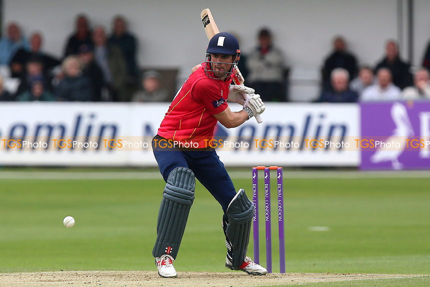 Alastair Cook of Essex in batting action during Essex Eagles vs Gloucestershire, Royal London One-Day Cup Cricket at The Cloudfm County Ground on 4th May 2017
