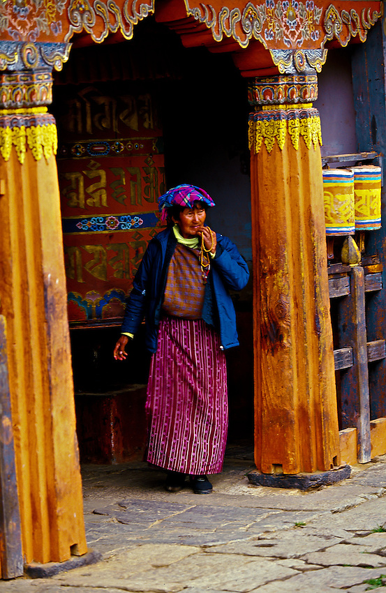 Jampa Lhakhang (monastery), Bumthang Valley, Bhutan