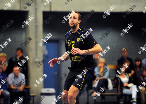2014-08-30 / Volleybal / seizoen 2014-2015 / Amigos Zoersel / Pieter Relecom<br /><br />Foto: Mpics.be