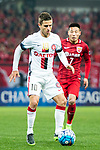 Sydney Wanderers Forward Nicolas Martinez in action during the AFC Champions League 2017 Group F match between Shanghai SIPG FC (CHN) vs Western Sydney Wanderers (AUS) at the Shanghai Stadium on 28 February 2017 in Shanghai, China. Photo by Marcio Rodrigo Machado / Power Sport Images