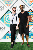 Jake Pierce and Emory Stewart attend The Zoe Report Presents the Third Annual ZOEasis on April 15, 2017 (Photo by Jason Sean Weiss / Guest of a Guest)
