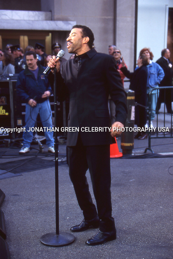 Lionel Richie 1996 NYC Today Show by Jonathan <br /> Green