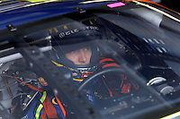 Apr 27, 2007; Talladega, AL, USA; Nascar Nextel Cup Series driver Kyle Busch (5) during practice for the Aarons 499 at Talladega Superspeedway. Mandatory Credit: Mark J. Rebilas