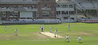 Photo Peter Spurrier.01/09/2002.Village Cricket Final - Lords.Elvaston C.C. vs Shipton-Under-Wychwood C.C..Shipton batting