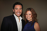 "Guiding Light Tom Pelphrey and Melissa Archer at Southwest Florida SoapFest's Celebrity Weekend doing A Night at the Theatre performing ""My Italy Story"" benefitting the Apothecary Theatre Company at the Rose History Auditorium on November 11, 2012 in Marco Island, Florida. (Photo by Sue Coflin/Max Photos)"
