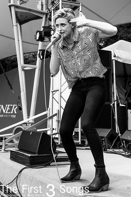 Emily Armstrong of Dead Sara performs at the 2014 Bunbury Music Festival in Cincinnati, Ohio