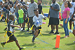Miramar flag football league final game and ceremony at Vizcaya Park of Miramar