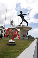 Picture by Harry Steele/SWpix.com - 12/04/2019 - RLWC2021 Rugby League World Cup 2021 -  IDP Trip to Jamacia<br /> Kait Ludwig , Dean Hardman, Steve Ganson<br /> -