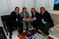 SAO PAULO, SP, 08 DE OUTUBRO DE 2012 -  ENCONTRO COM LULA - PPREIFEITO ELEEITO DO RJ SE ESNCONTRA COM LULA - O ex- presidente Luis Inacio Lula da Silva se encontrou com o prefeito eleito do Rio de Janeiro Eduardo Paes na noite desa segunda-feira(08), no Instituto Lula no bairro do Ipiranga de São Paulo.  (FOTO: AMAURI NEHN / BRAZIL PHOTO PRESS).