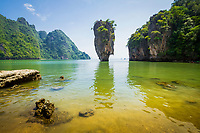 Ko Tapu or James Bond island, Phang Nga Bay, Phang Nga Province, Andaman Sea, Thailand