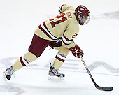 Steven Whitney (BC - 21) - The Boston College Eagles defeated the University of Minnesota Duluth Bulldogs 4-0 to win the NCAA Northeast Regional on Sunday, March 25, 2012, at the DCU Center in Worcester, Massachusetts.
