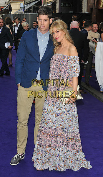 Ryan Clark &amp; Katherine Kelly at the &quot;Disney's Aladdin&quot; press night, Prince Edward Theatre, Old Compton Street, London, England, UK, on Wednesday 15 June 2016.<br /> CAP/CAN<br /> &copy;CAN/Capital Pictures