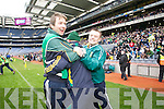 Castlegregory Manager Ger O'Callaghan in the All Ireland Junior Club Championship at Croke park on Sunday February 14 2010...