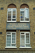 134 people, mostly Jews, were killed when Hughes Mansions in Vallance Road, in the London Borough of Tower Hamlets, was hit by a V2 rocket towards the end of World War Two.