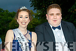 Crown<br /> --------<br /> Local girl, Niamh Greaney from Brandon was chosen the festival queen 2017 with her escort Zack Overy.