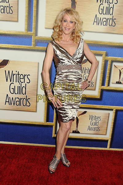 1 February 2014 - Los Angeles, California - Moira Walley-Beckett. 2014 Writers Guild Awards West Coast held at the JW Marriott Hotel.  <br /> CAP/ADM/BP<br /> &copy;Byron Purvis/AdMedia/Capital Pictures