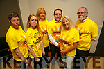 Darkness into Light Volunteers l-r  Ann O'Shea, Gillian Goggin, Pat Turner,  Aidan O'Sullivan, Marilyn O'Shea and Martin Brosnan