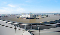 BNPS.co.uk (01202 558833)<br /> Pic:  Johns&Co/BNPS<br /> <br /> Stunning views over the Thames and the 02.<br /> <br /> Fancy joining the Premier league of London property?<br /> <br /> A luxurious London apartment that has been home to a string of Premier League footballers has emerged for sale for close to £2m.<br /> <br /> The lavish home is on the 25th and 26th floors of the stylish Ontario Tower in Ballymore, close to Canary Wharf.<br /> <br /> It's prime location and stylish facilities have made it a favourite of West Ham United players with three internationals having lived there.