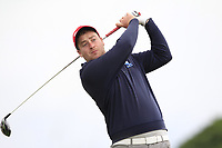Gary Ward (Kinsale) on the 2nd tee during Round 2 of The East of Ireland Amateur Open Championship in Co. Louth Golf Club, Baltray on Sunday 2nd June 2019.<br /> <br /> Picture:  Thos Caffrey / www.golffile.ie<br /> <br /> All photos usage must carry mandatory copyright credit (© Golffile   Thos Caffrey)