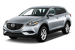 Front three quarter view of a .2013 Mazda CX9