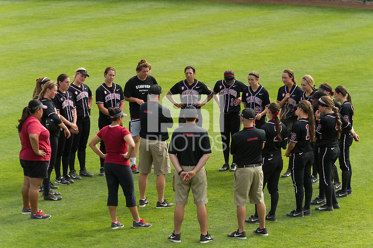 Stanford, CA, March 9, 2014<br /> Stanford Women's Softball vs Davis, Stanford won 3-2.