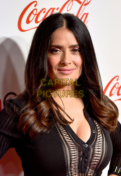LAS VEGAS, NV - MARCH 30:  Salma Hayek at the CinemaCon Big Screen Achievement Awards  at The Colosseum at Caesars Palace during CinemaCon 2017on March 30, 2017 in Las Vegas, Nevada. <br /> CAP/MPI/KLH<br /> &copy;KLH/MPI/Capital Pictures